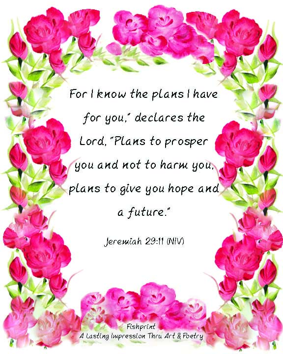 I Know The Plans…