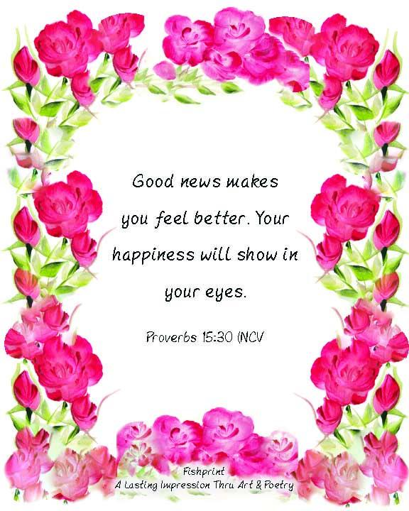 Good News…